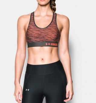 Top Under Armour Armour Mid Bra Printed 1273505 404